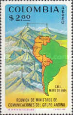 [Airmail - Meeting of Communications Ministers, Andean Group, Cali, Typ ALD]