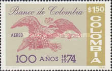 [Airmail - The 100th Anniversary of Bank of Colombia, Typ ALJ]