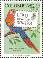 [Airmail - The 100th Anniversary of U.P.U. - Colombian Birds, Typ ALS]
