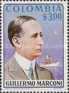 [The 100th Anniversary of the birth of Guglielmo Marconi, 1874-1937, Typ AMG]