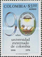 [Airmail - The 90th Anniversary of Colombia University, Typ AMV]