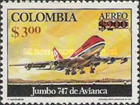[Airmail - Previous Issues Surcharged, Typ ANL3]