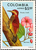 [Airmail - Birds and Flowers, Typ ANU]
