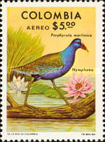 [Airmail - Birds and Flowers, Typ ANV]