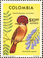 [Airmail - Birds and Flowers, Typ ANX]