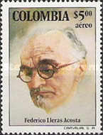 [The 100th Anniversary of the Birth of Dr. Federico Lleras Acosta, 1877-1938, Typ AOG]