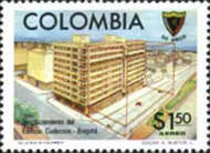 [Airmail - The 90th Anniversary of Society of Colombian Engineers, Typ AOI]