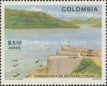 [Airmail - Hydroelectric Power Station in Rio Prado, Tolima, Typ AQD]
