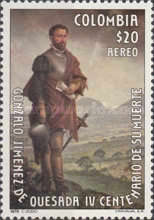 [Airmail - The 400th Anniversary of the Death of Gonzalo Jimenez de Quesada, 1500-1579, Typ AQG]