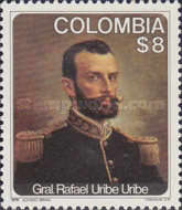 [The 120th Anniversary of the Birth of Rafael Uribe Uribe, 1859-1914, Typ AQI]