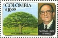 [The 12th Anniversary of the Death of Gustavo Uribe Ramirez, 1893-1968, type ASE]