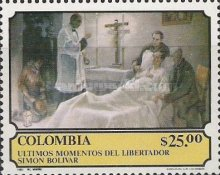 [The 150th Anniversary of the Death of Simon Bolivar, 1783-1830, Typ ASP]