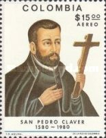 [Airmail - The 400th Anniversary of the Birth of St. Pedro Claver, 1580-1654, Typ ASR]