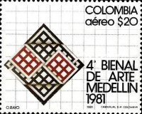 [Airmail - The 4th Biennial Arts Exhibition, Medellin, Typ ASW]