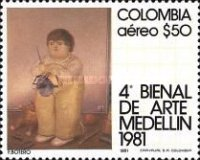 [Airmail - The 4th Biennial Arts Exhibition, Medellin, Typ ASY]