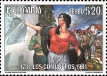 [Airmail - The 200th Anniversary of Comuneros Uprising, Typ AUZ]