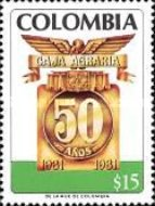 [The 50th Anniversary of Caja Agraria, Typ AVC]