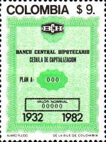 [The 50th Anniversary of Central Mortgage Bank, Typ AXA]