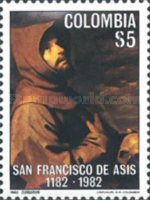 [The 800th Anniversary of the Death of St. Francis of Assisi, 1182-1226, Typ AXV]
