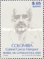 [Airmail - Award of Nobel Prize for Literature to Gabriel Garcia Marquez, Typ AYB]