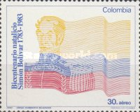 [Airmail - The 200th Anniversary of the Birth of Simon Bolivar, 1783-1830, Typ AYM]