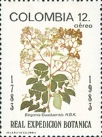 [Airmail - The 200th Anniversary of Royal Botanical Expedition from Spain to South America, Typ AYS]