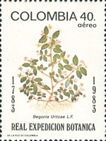 [Airmail - The 200th Anniversary of Royal Botanical Expedition from Spain to South America, Typ AYU]