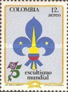 [Airmail - The 75th Anniversary of Boy Scout Movement, Typ AYZ]