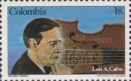 [The 100th Anniversary of the Birth of Luis A. Cabo, 1884-1945, Typ AZD]