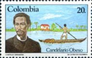 [The 100th Anniversary of the Death of Candelario Obeso, 1849-1884, Typ AZF]