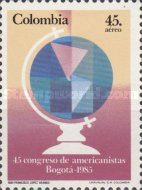 [Airmail - The 45th Congress of Americanists, Bogota, Typ AZI]