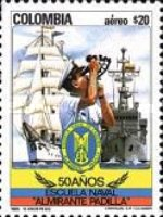 [Airmail - The 50th Anniversary of Almirante Padilla Naval College, Typ AZU]