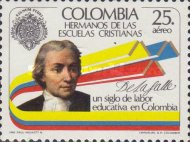 [Airmail - The 100th Anniversary of Brothers of Christian Schools in Colombia, Typ BAW]