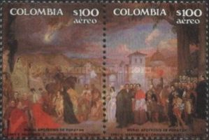 [Airmail - The 450th Anniversary of Popayan City, Typ BBL]