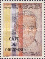 [The 100th Anniversary of the Birth of Pedro Uribe Mejia, Coffee Industry Pioneer, 1886-1972, Typ BBM]