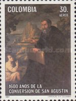 [Airmail - The 1600th Anniversary of Conversion of St. Augustine, Typ BBN]