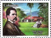 [The 150th Anniversary of the Birth of Jorge Isaacs, Writer, 1837-1895, Typ BBW]