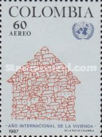 [Airmail - International Year of Shelter for the Homeless, Typ BCA]