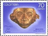 [Airmail - Pre-Columbian Art Treasures, Typ BCK]