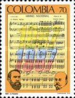 [The 100th Anniversary of National Anthem by Rafael Nunez and Oreste Sindici, Typ BCO]