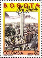 [Airmail - The 450th Anniversary of Bogota, Typ BCP]
