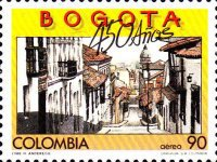 [Airmail - The 450th Anniversary of Bogota, Typ BCQ]