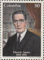 [The 100th Anniversary of the Birth of Eduardo Santos, 1888-1974, Typ BCX]