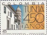 [The 450th Anniversary of Tunja, Typ BEA]