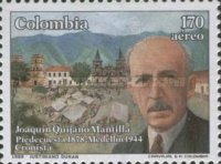 [The 45th Anniversary of the Death of Joaquin Quijano Mantilla, 1878-1944, Typ BEO]