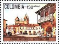 [Airmail - Presidential Summit, Cartagena, тип BEW]