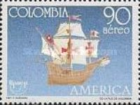 [Airmail - America - Voyages of Discovery, Typ BHB]