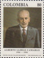 [Thge 1st Anniversary of the Death of Alberto Lleras Camargo, 1906-1990, Typ BHD]