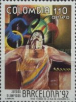 [Airmail - Olympic Games - Barcelona, Spain, Typ BHZ]