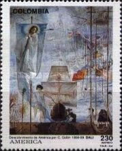 [Airmail - America - The 500th Anniversary of Discovery by Christopher Columbus, Typ BIA]
